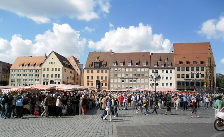 Nuremberg's main market