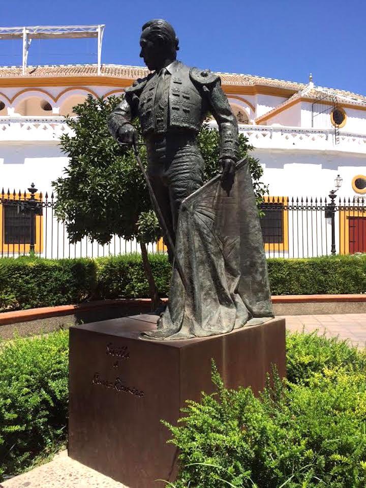 matador statue