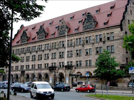 Nuremberg court house, credit-globenotes.com