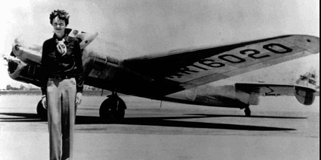 Amelia Earhart, Credit- huffingtonpost.com