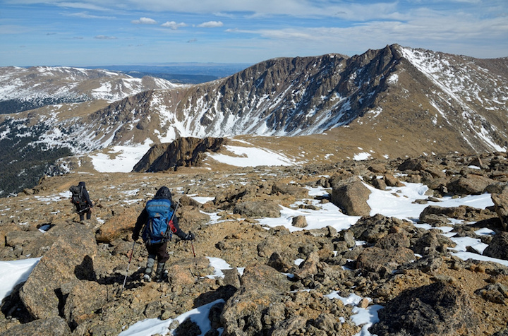 Summit Hagues Peak, Credit 14ers.prg