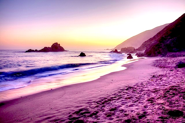 Pfeiffer beach, Credit-tripcentral.ca