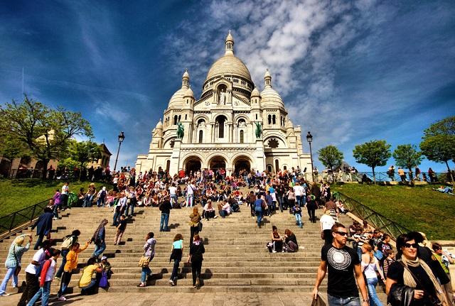 Sacré-Cœur Basilica de Montmartre, Credit Tumblr.com