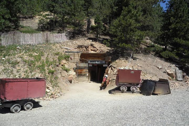 Entrance to Hiden Mine