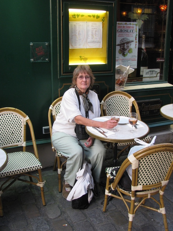 a down evening in Montmartre, Paris